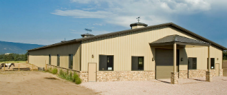 Small Metal Building Agricultural Indoor Riding Arena